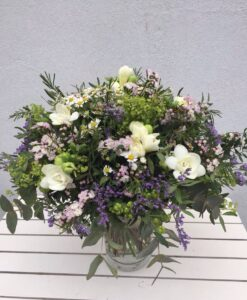 Nádherná kytice -Alchimilla robustica, Limonum, Camille...