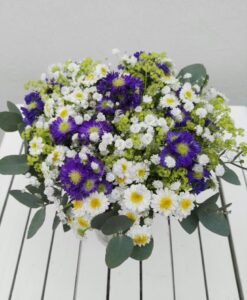 Letní kytice a lá ledová královna