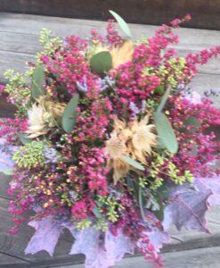 Podzimní kytice k usušení