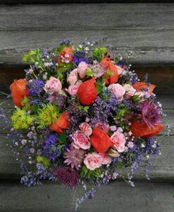 Veselá podzimní kytice