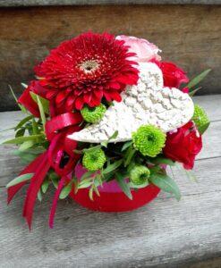 Vypichovaný květinový box