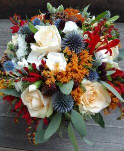 Svatební podzimní kytice