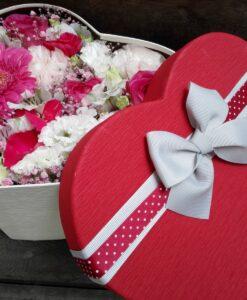 Romantický mix květů - Flower box 2