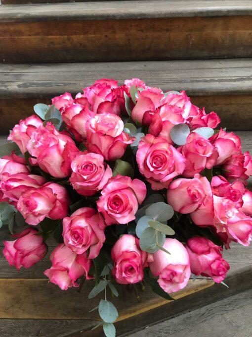 Luxusní kytice 50 růží odrůda Juanita