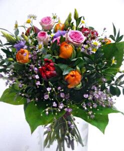 Barevná veselá kytice